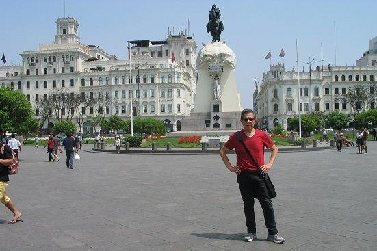 Juan, Spanish teacher for Continuing Education at North in Peru